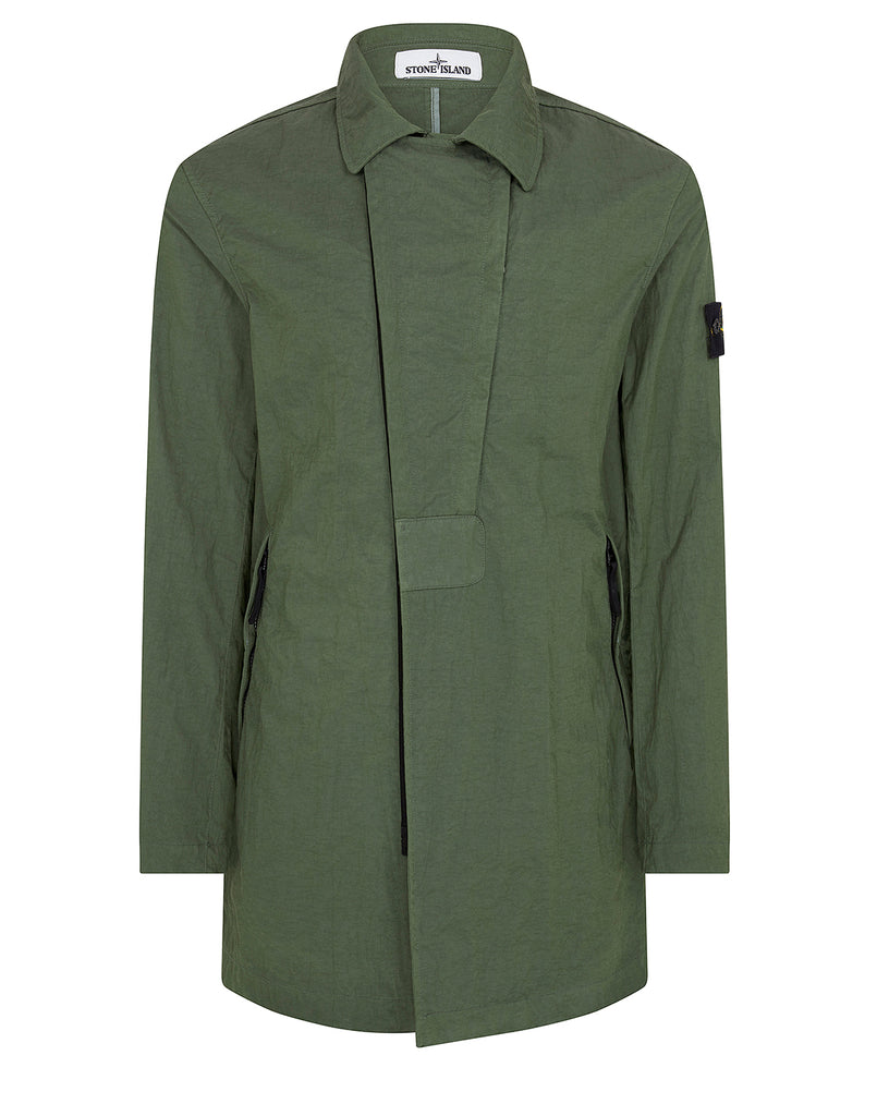 40226 TIGHTLY WOVEN NYLON TWILL-TC Jacket in Olive