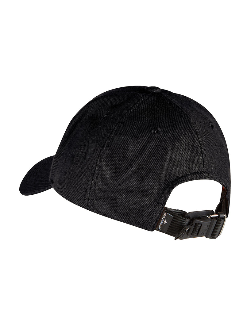 99175 Six-panel cap in Black