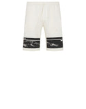 66595 'DRONE FOUR' Fleece Shorts in Ivory