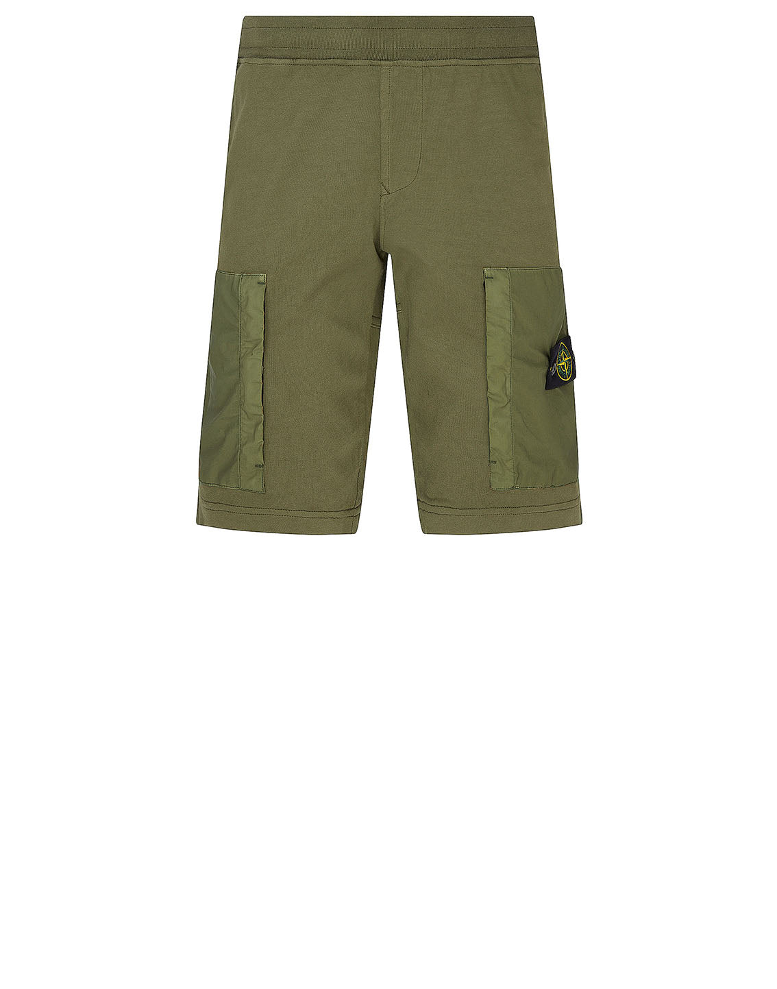 62353 Fleece Shorts in Olive