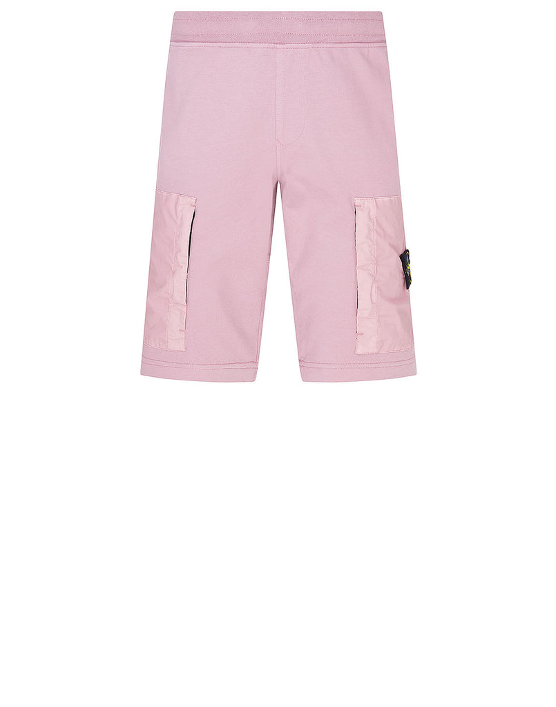 62353 Fleece Shorts in Rose Quartz