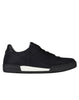 S0593 REFLECTIVE WEAVE RIPSTOP DERBY SHOE in Black