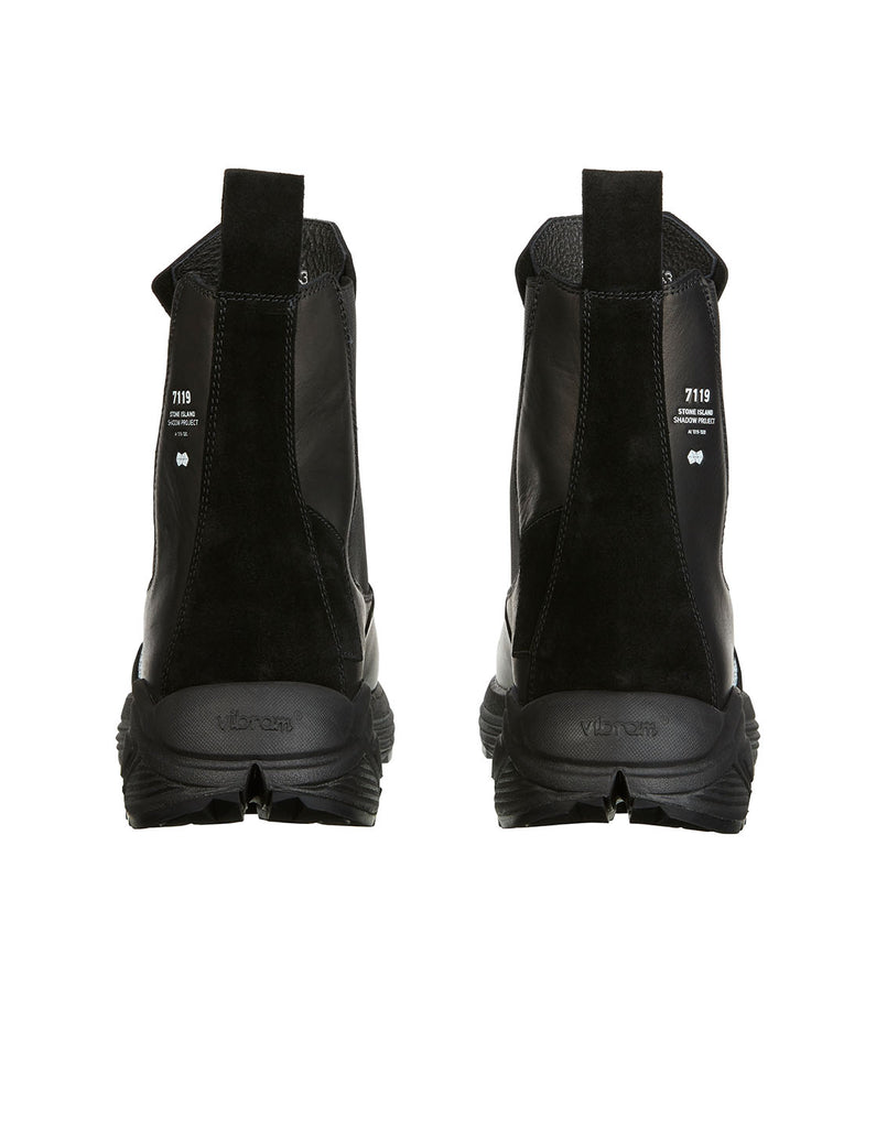 S0422 Slip-on Boots in Black
