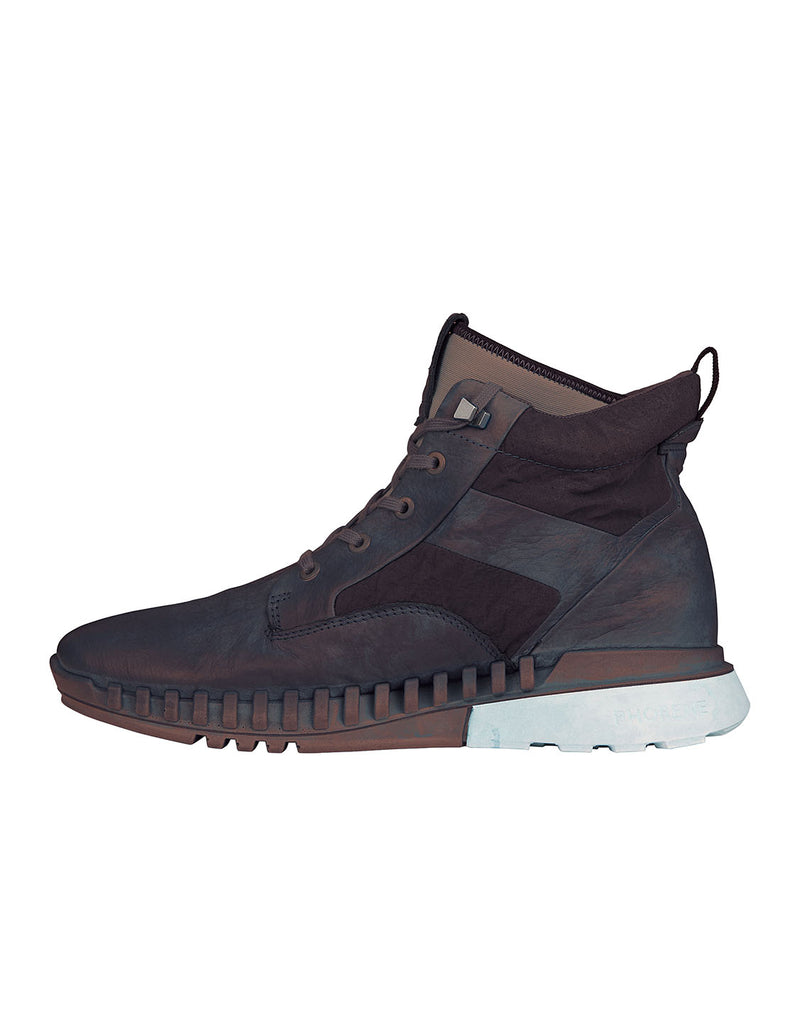S0796 Garment Dyed Leather Exostrike Boot With Dyneema® in Black