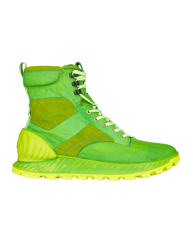 S0695 Garment Dyed Leather Exostrike Boot in Pistachio