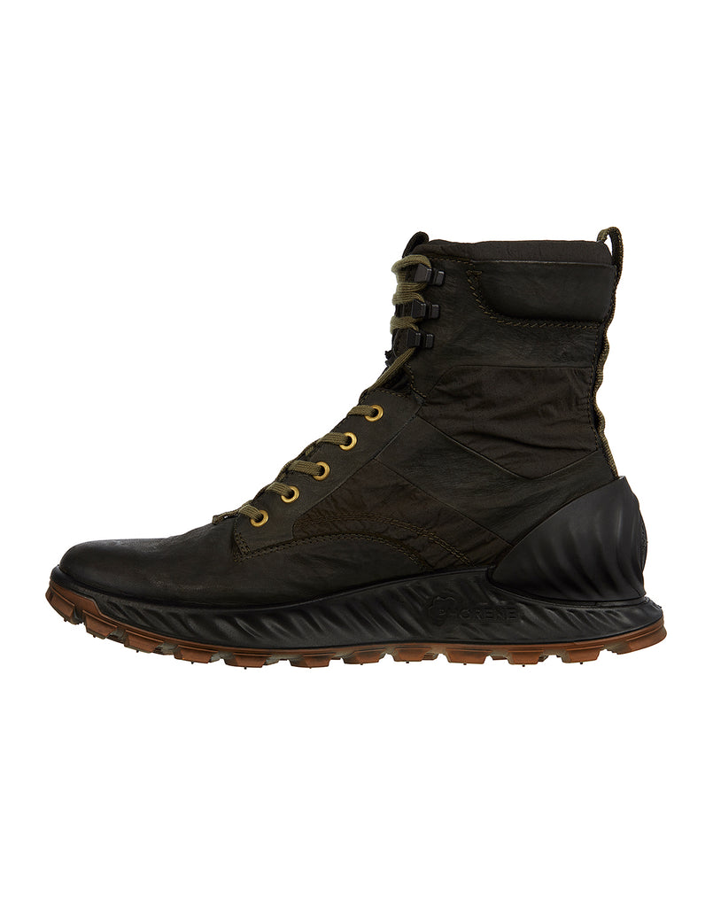 S0695 Garment Dyed Leather Exostrike Boot in Olive