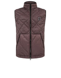G0124 GARMENT DYED QUILTED MICRO YARN Jacket in Blue Grey