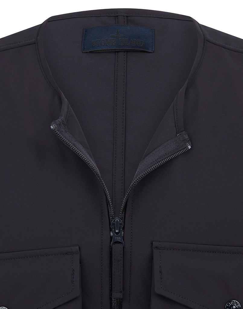 G03F1 POLIESTERE  STRETCH 5 L_GHOST PIECE Jacket in Navy Blue
