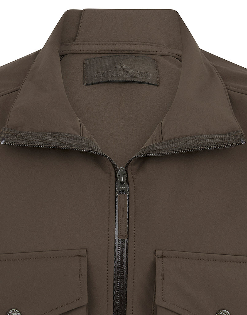 426F1 POLIESTERE STRETCH 5 L_GHOST PIECE Jacket in Military Green
