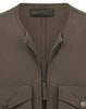 G03F1 POLIESTERE  STRETCH 5 L_GHOST PIECE Jacket in Military Green