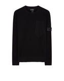 507A2 Crewneck with Catch Pocket in Black
