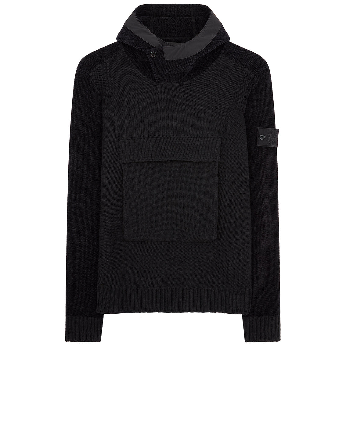 593FA Ghost Piece Knit in Black