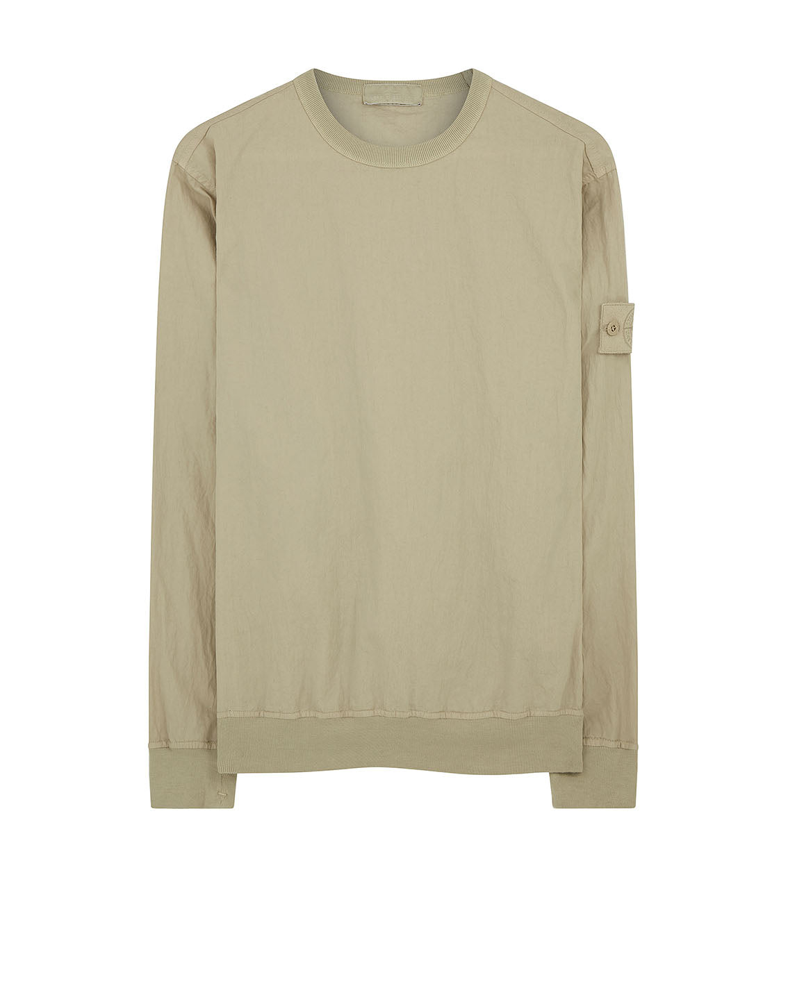 659F2 GHOST PIECE_COTTON NYLON TELA Sweatshirt in Beige