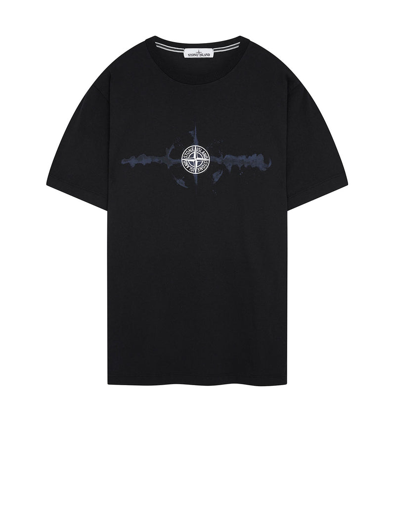 2NS85 'GRAPHIC SIX' T-Shirt in Black