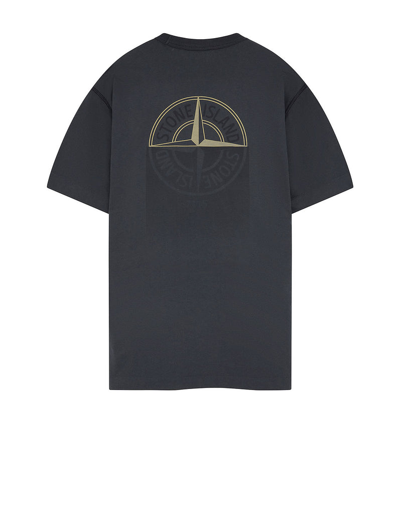 23380 'GRAPHIC ONE' PRINT T-Shirt in Dark Grey