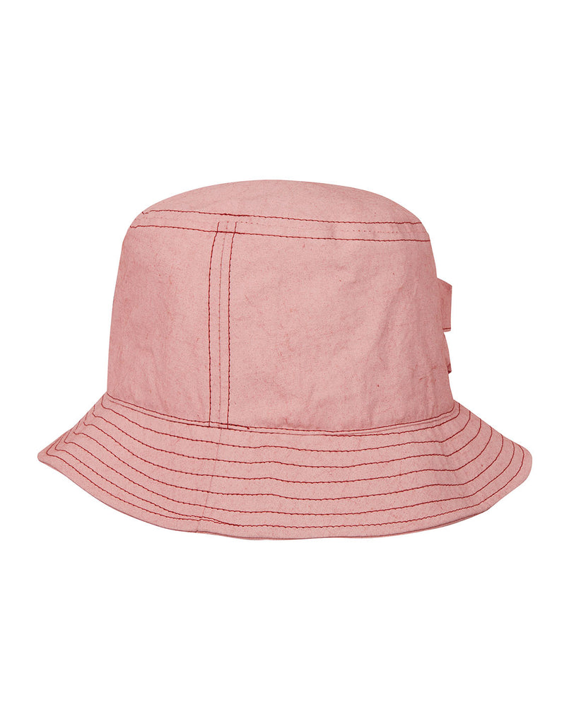 99466 FELPA PLACCATA Hat in Brick Red