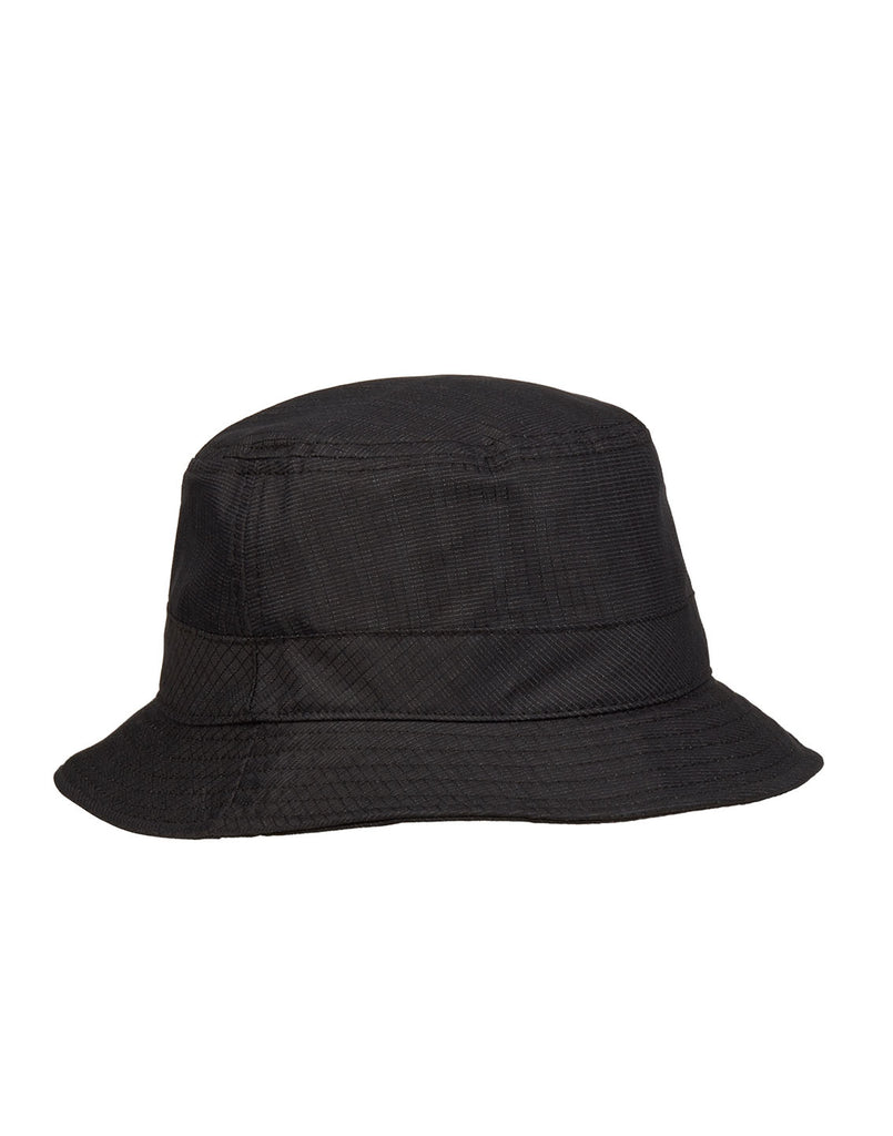 99394 REFLECTIVE WEAVE RIPSTOP HAT in Black