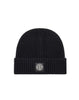 N10B5 Ribbed Wool Hat in Black