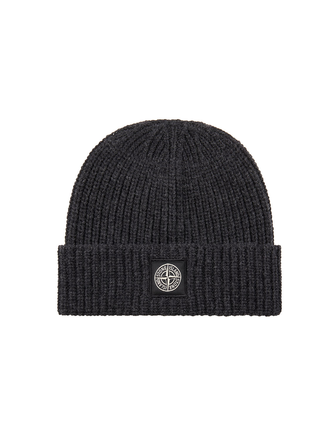 N10B5 Ribbed Wool Hat in Charcoal