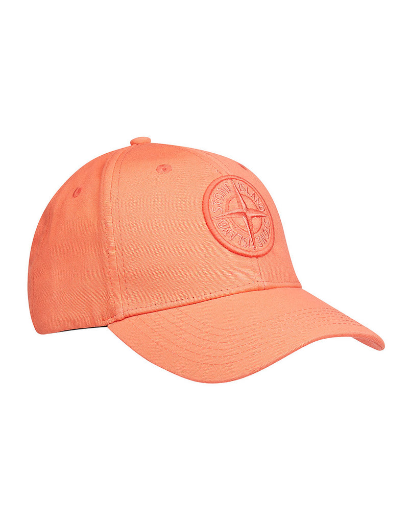 99168 Hat in Orange Red