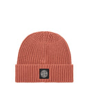 N10B5 Ribbed Wool Hat in Rust