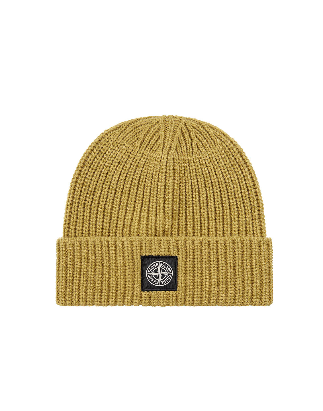 N10B5 Ribbed Wool Hat in Mustard