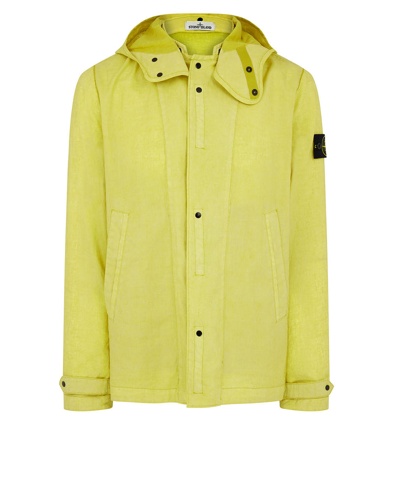 44133 LINO RESINATO-TC Jacket in Yellow