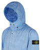 44133 LINO RESINATO-TC Jacket in Blue