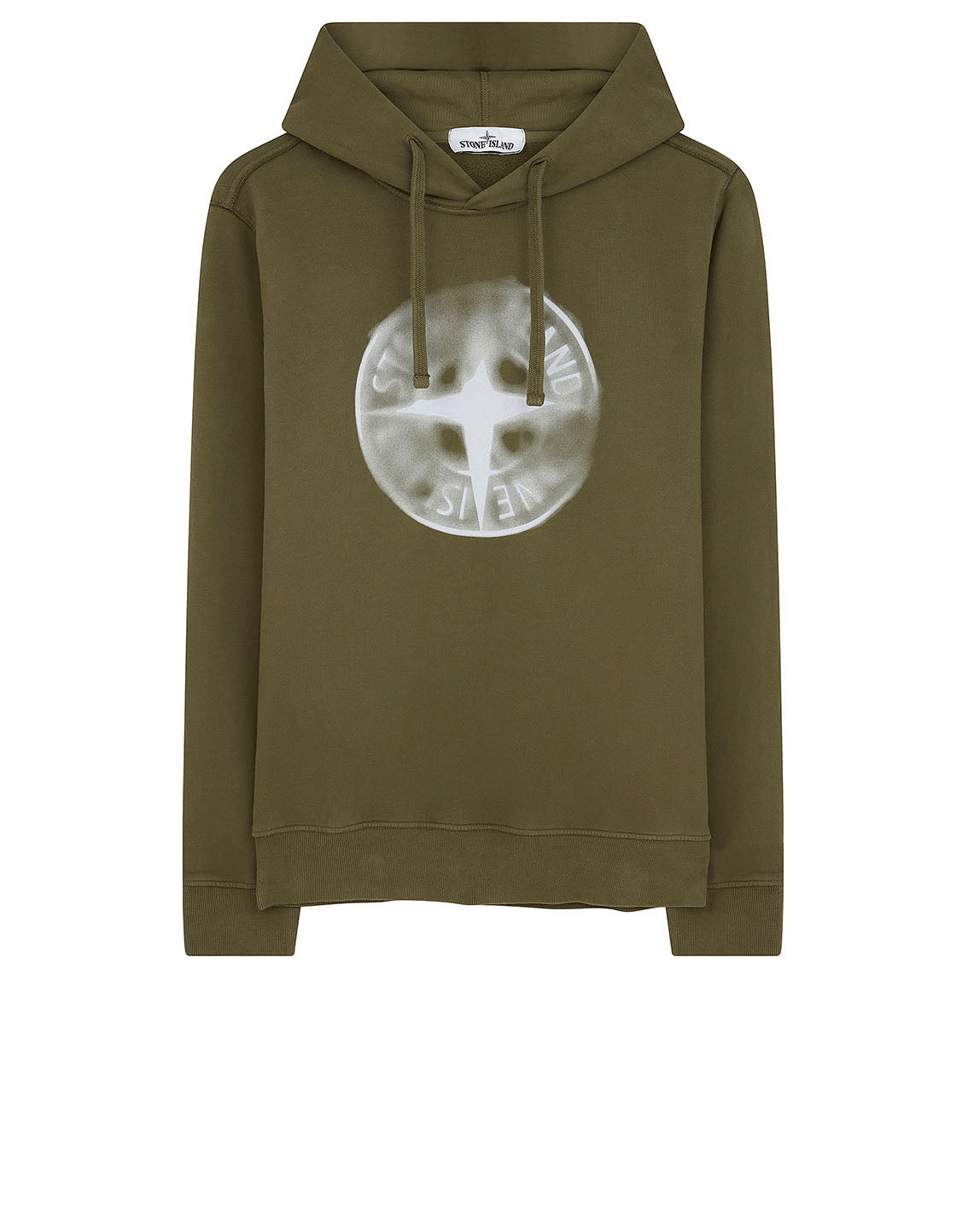 66089 'GRAPHIC TEN' Sweatshirt in Olive