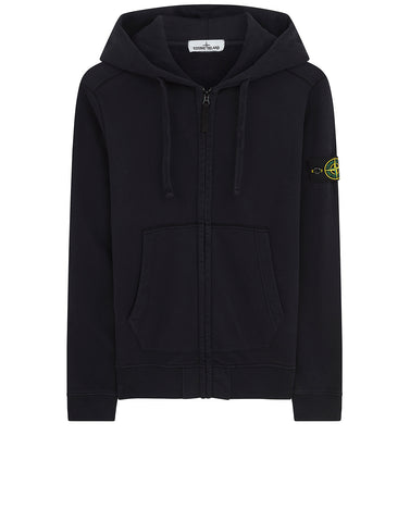 60251 HOODED SWEATSHIRT in Navy Blue