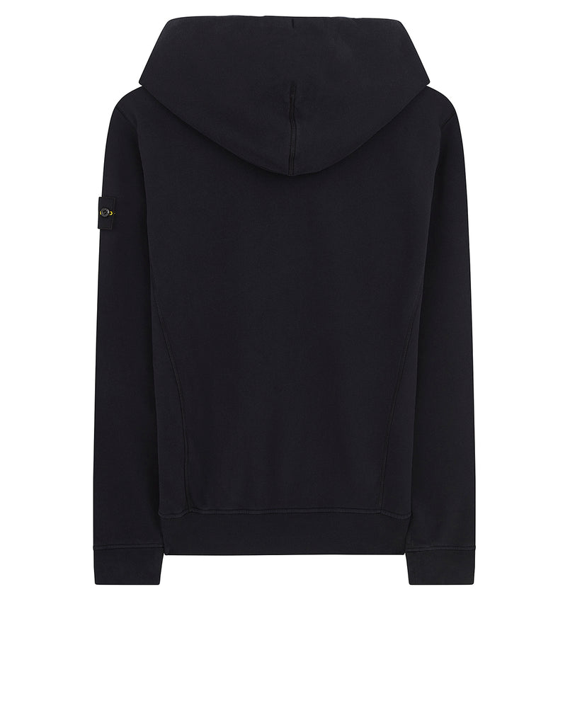 60220 Hooded Sweatshirt in Navy Blue