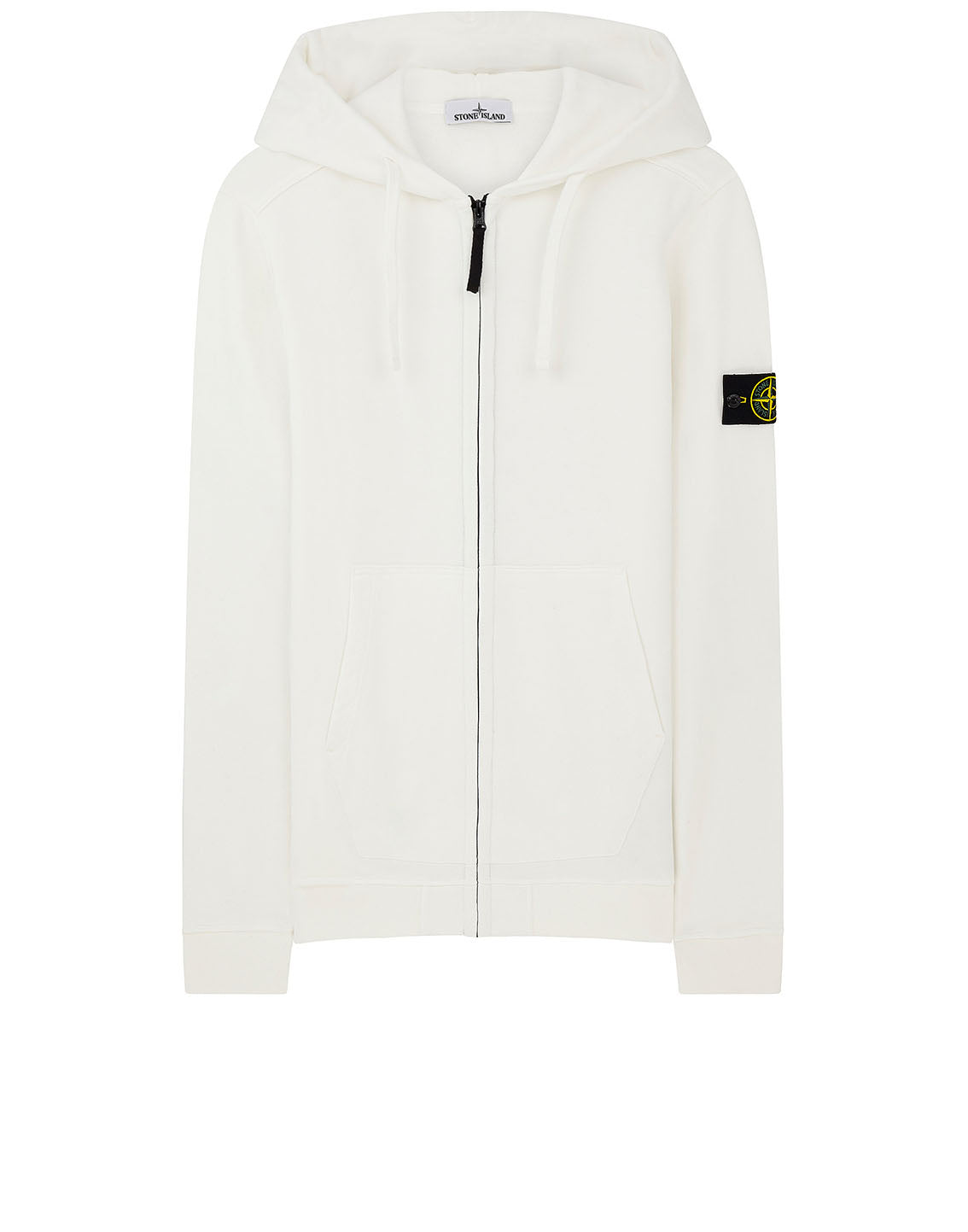60220 Hooded Sweatshirt in Natural