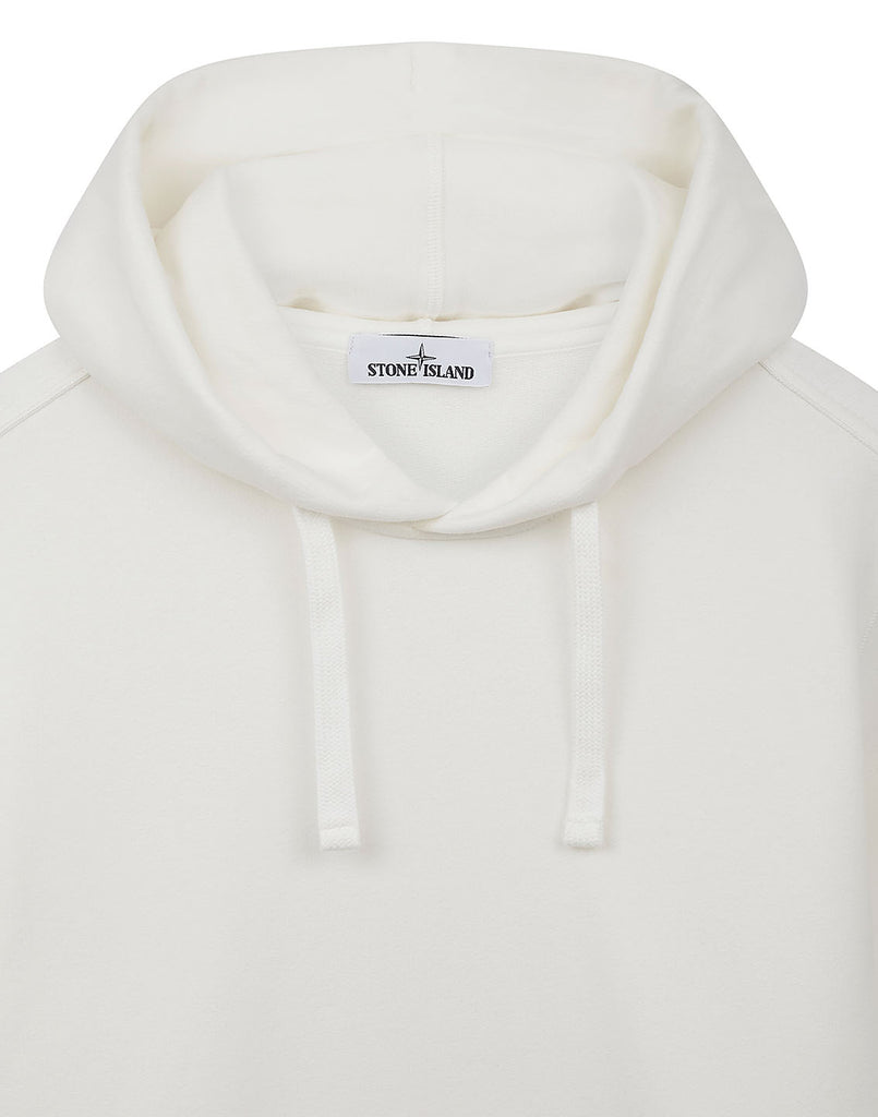 62820 Hooded Pullover Sweatshirt in Natural