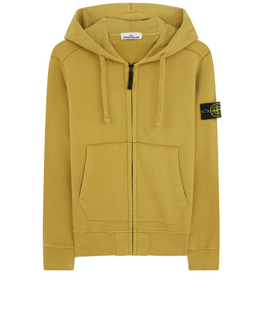 60251 HOODED SWEATSHIRT in Mustard
