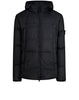 40723 GARMENT DYED CRINKLE REP NY Real Down Jacket in Charcoal