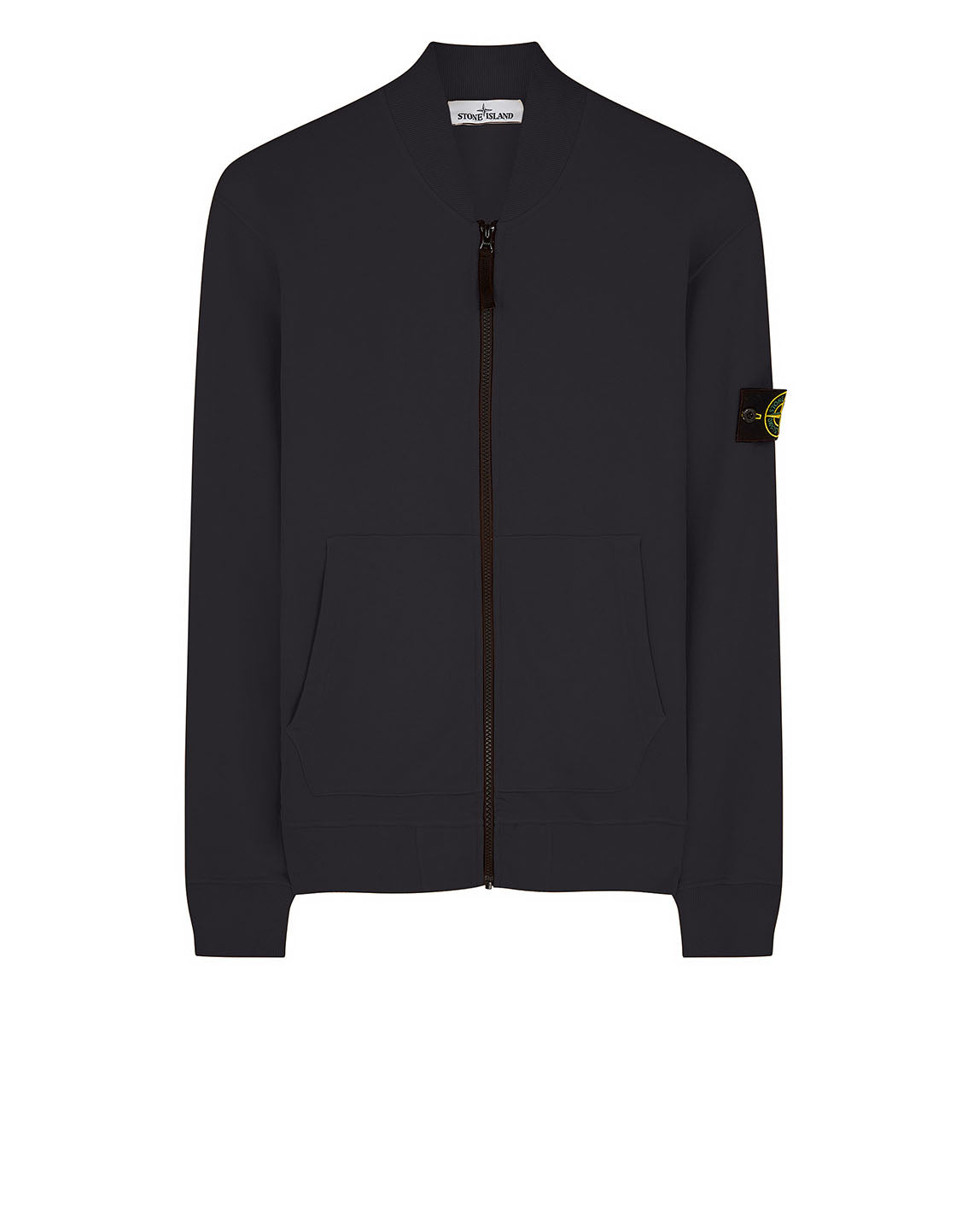 60220 Full zip Sweatshirt in Black