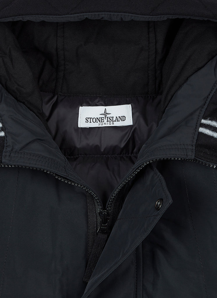 40734 Poly-Colour Frame-TC Down Jacket in Black