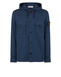 12408 Overshirt in Blue Marine