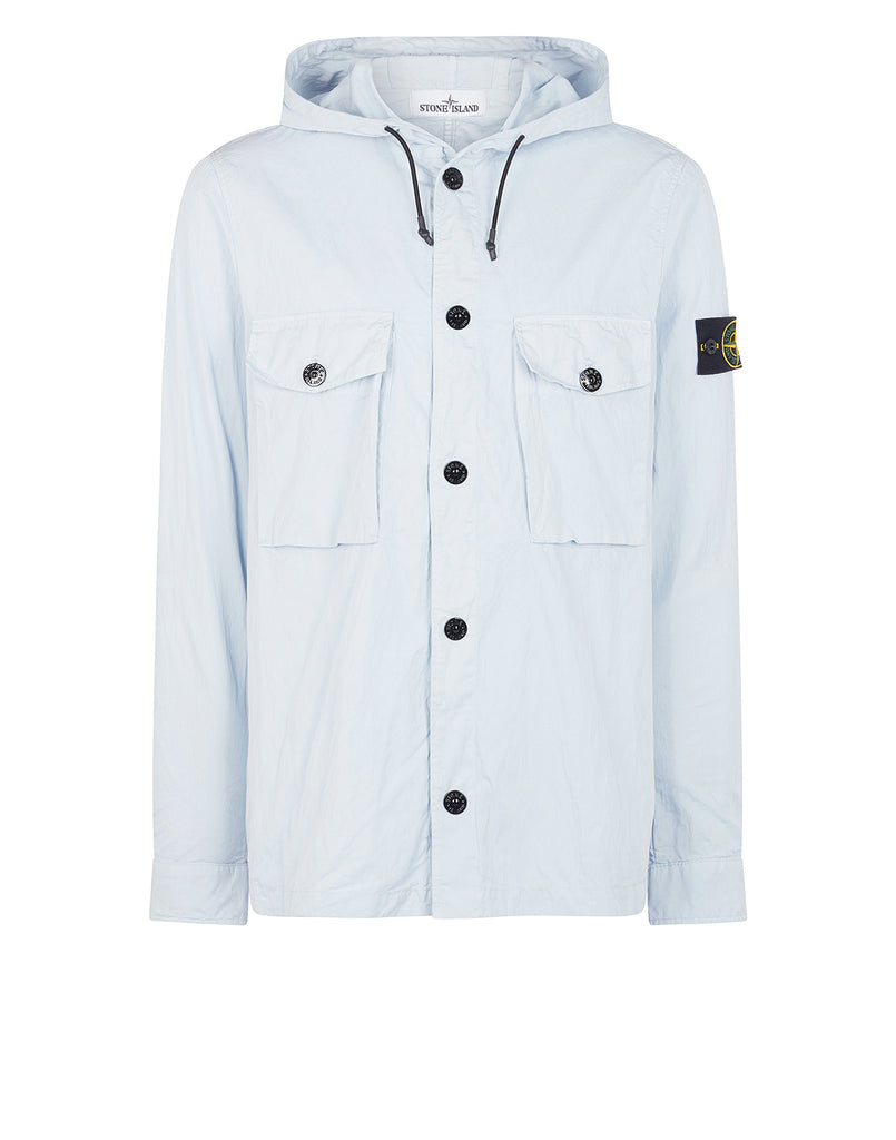 12408 Overshirt in Sky Blue