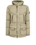 42033 LINO RESINATO DOWN-TC Jacket in Olive