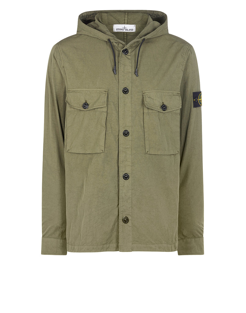 12408 Overshirt in Olive