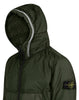40423 GARMENT DYED CRINKLE REPS NY WITH PRIMALOFT®-TC: Hooded blouson in Dark Forest