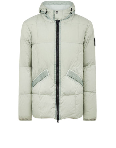 40223 Garment Dyed Crinkle Reps NY Down Jacket in Dust