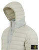 43125 Loom Woven Down Chambers Stretch Nylon-TC Jacket in Dust