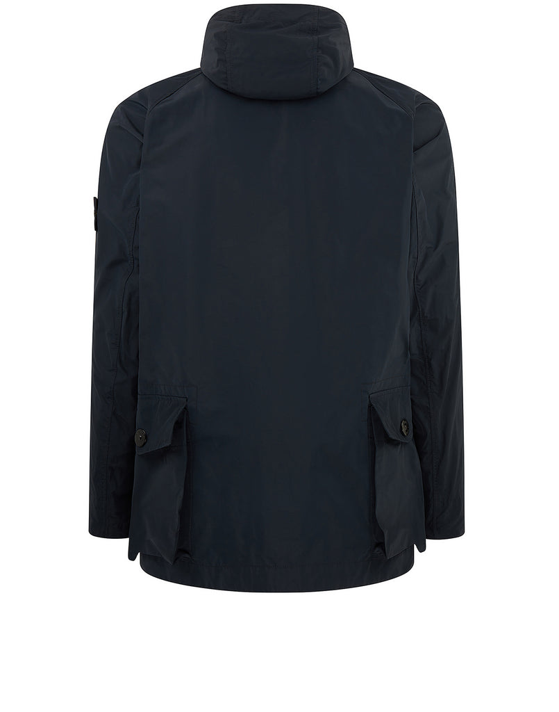 41622 MICRO REPS Jacket in Navy Blue