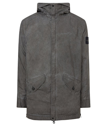 42599 PLATED REFLECTIVE WITH DUST COLOUR FINISH Jacket in Grey