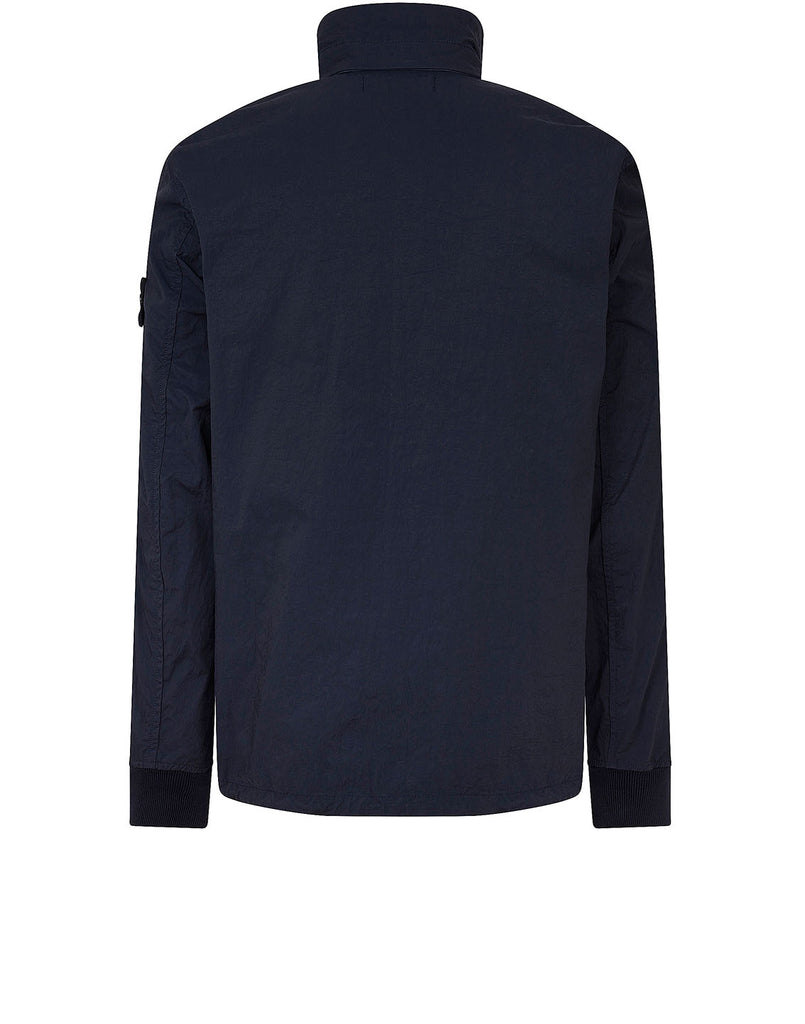 40126 TIGHTLY WOVEN NYLON TWILL-TC Jacket in Navy Blue