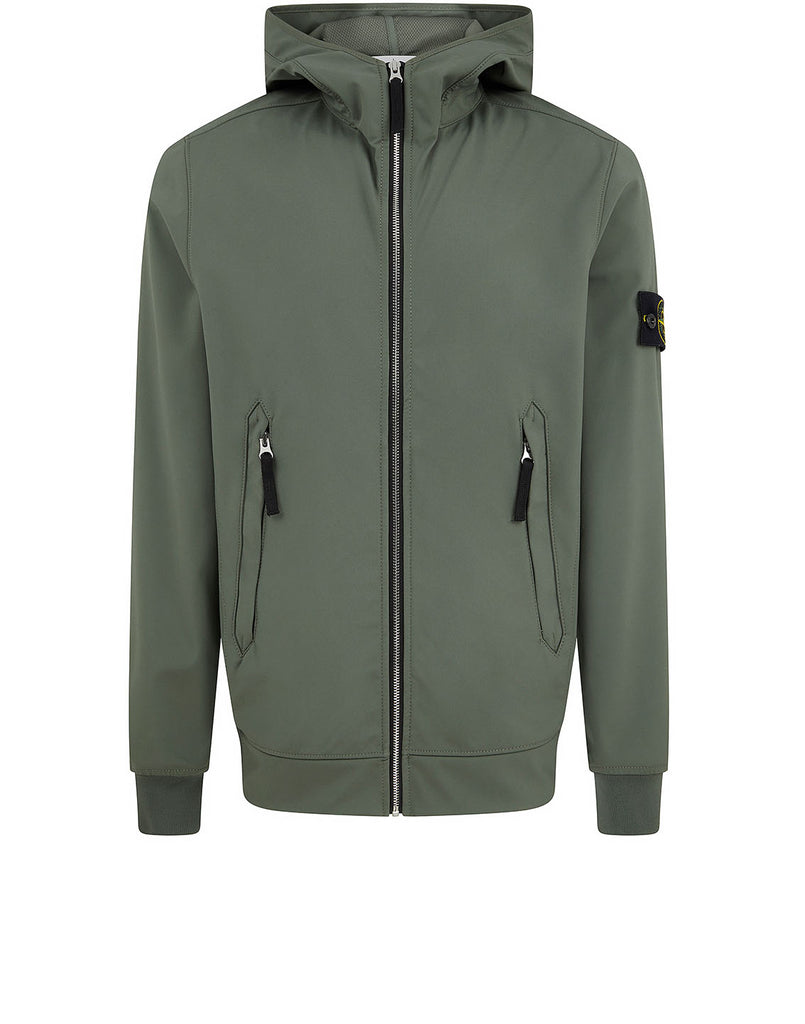 40927 LIGHT SOFT SHELL-R Jacket in Olive