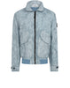 445E1 BIG LOOM CAMO-TC Jacket in Sky Blue