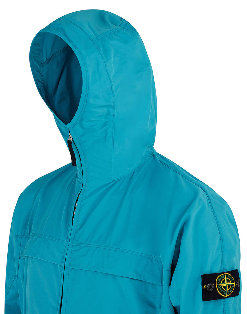 40522 MICRO REPS Jacket in Turquoise